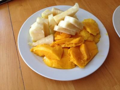 Honey Cream Pineapple