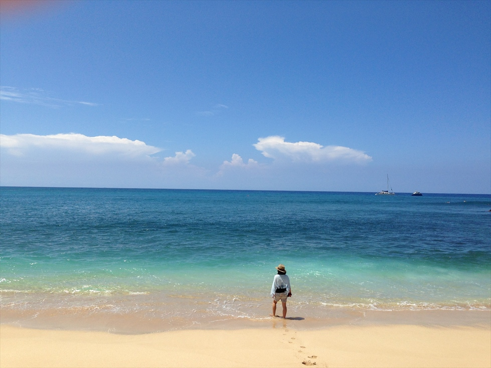 リーワードエリアの絶景ビーチ(1) Makaha Beach Park
