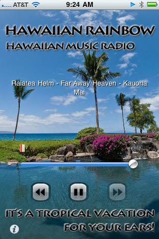 ハワイのローカルラジオを日本で!Hawaiian Rainbow