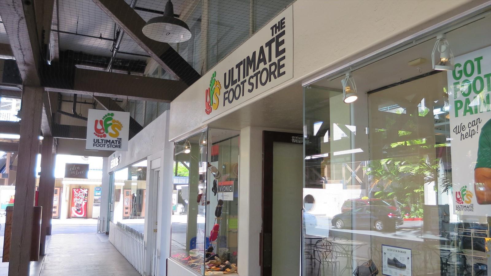 【閉店】まちの靴屋さんでサンダルゲット!The Ultimate Foot store@Ward