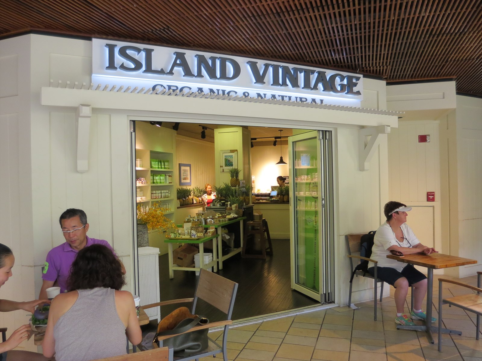 Island Vintage Organic and Naturalの品揃え!